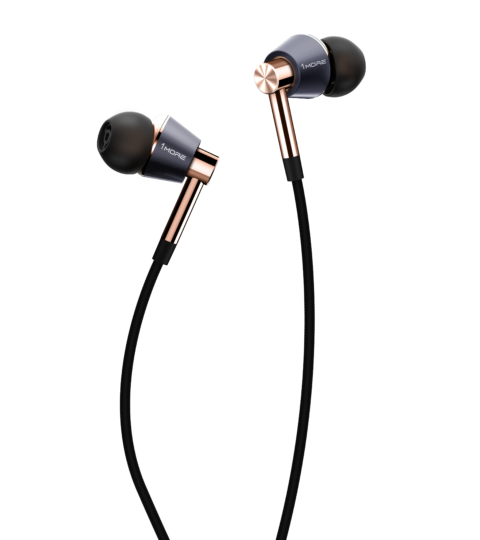 1More E1001 LTNG Triple-Driver In-Ear, Gold