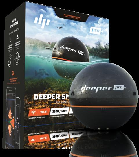 Deeper Fishfinder Sonar Pro+ FLPD-13