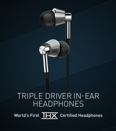 1More E1001 Triple-Driver In-Ear