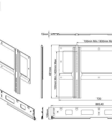 Flexson Flat To Wall For Sonos Playbar