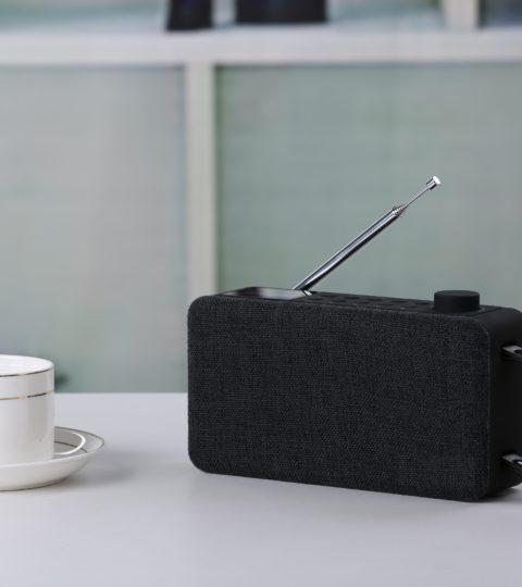 Sayva Noose DAB+ / Bluetooth Black