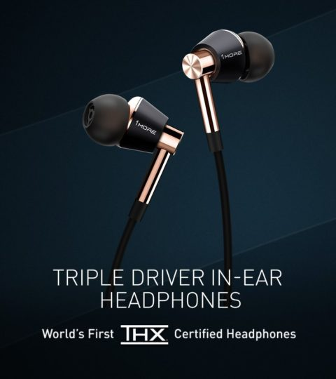 1More E1001 Triple-Driver In-Ear, Gold