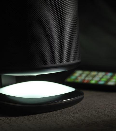 Flexson Sonos Play:1 Destktop Illuminated Stand Black