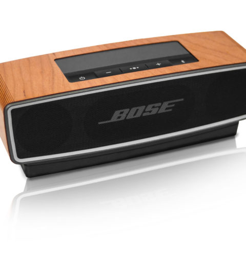 Balolo BOSE SOUNDLINK MINI I & II Cherry HOLZ COVER