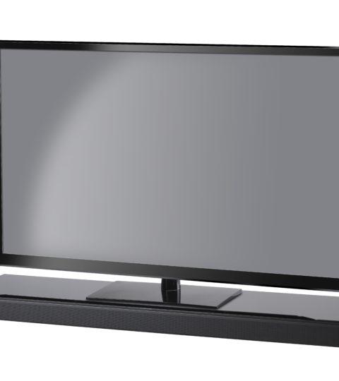 SoundXtra For Bose Soundtouch 300 / Soundbar 700 TV Stand Schwarz