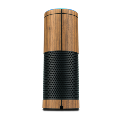 Balolo Amazon Echo Holz Cover