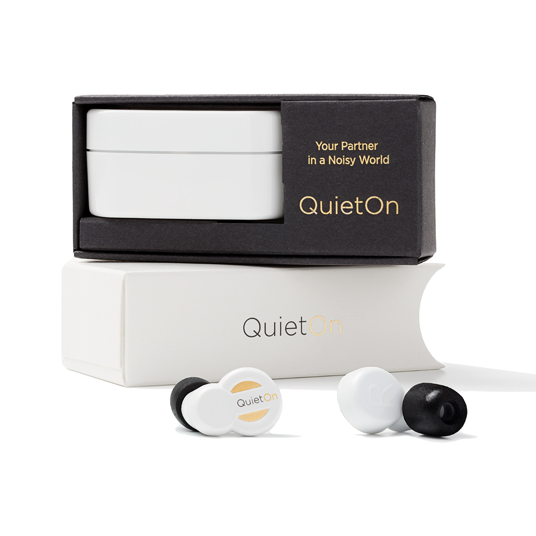 quieton active noise cancelling earplugs pocketmedia ag. Black Bedroom Furniture Sets. Home Design Ideas