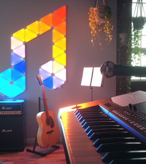 Nanoleaf Rhythm Light Panels Smarter Kit 9 Stk