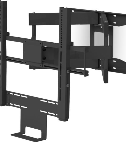 Flexson 65″ Cantilever Mount For Beam Schwarz Single
