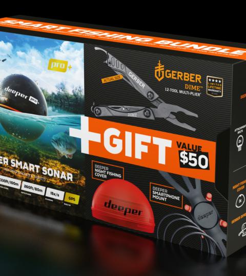 Deeper Smart Sonar Pro+ Weihnachtsbundle