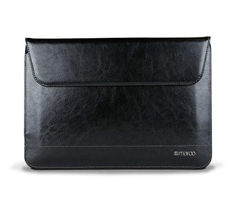 Maroo Black Premium Leather Sleeve