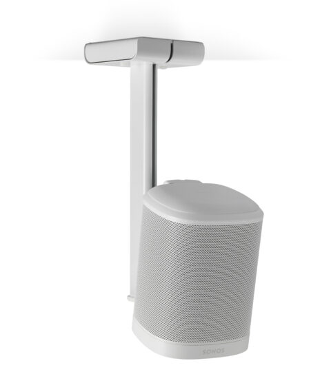 Flexson Deckenhalter Für Sonos One, Play:1 Weiss – Single