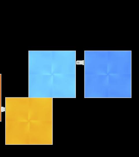 Nanoleaf Canvas Extension Pack