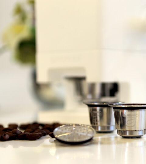 Capsulier Capsi Stahlkapseln Für Nespresso Maschinen