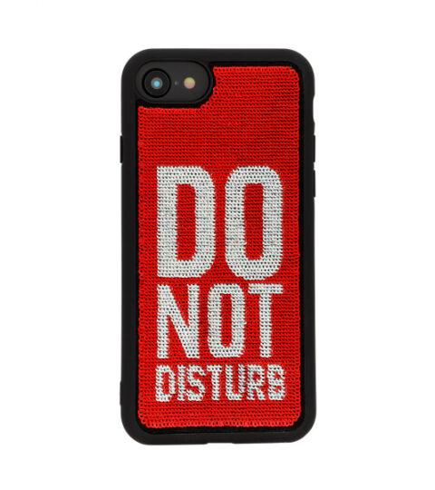 Benjamins IPhone Handyhülle Mit Pailletten Do Not Disturb