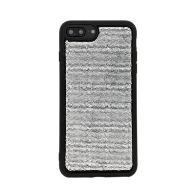 Benjamins IPhone Handyhülle Mit Pailletten Silber/Schwarz