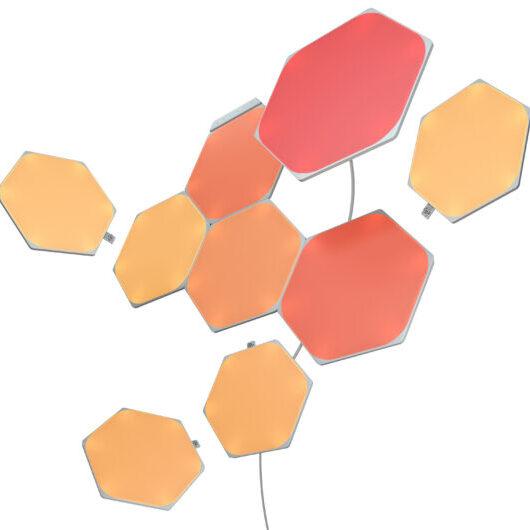 Nanoleaf Shapes Hexagons_9PK_Warm Wire